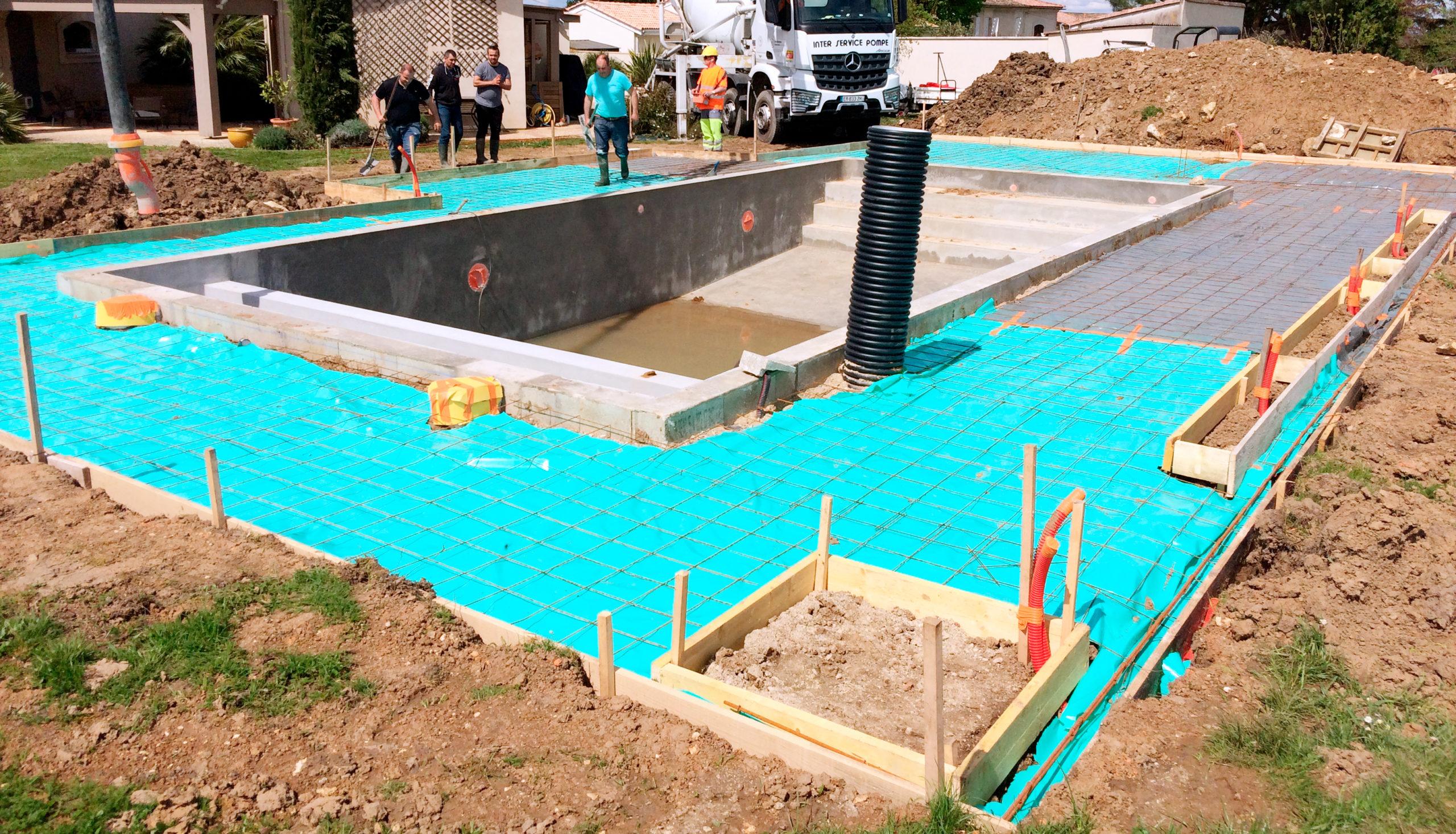 piscine maçonnée