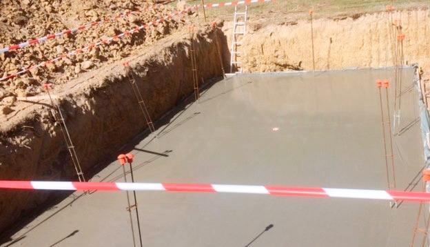 construction d'une piscine à Libourne avec oulage de la dalle d'une piscine maçonnée